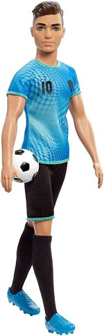 バービーサッカープレイヤードールケン[BarbieSoccerPlayerDoll/MATTEL/FXP02/人形]