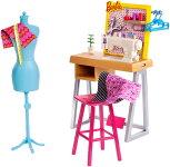 バービー服飾デザイナーセット(BarbieCareerPlayset/FXP10/MATTEL社/ドール付属せず)
