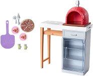 バービーピザ・オーブンセット(BarbiePizzaOvenPlayset/FXG39/MATTEL社/ドール付属せず)