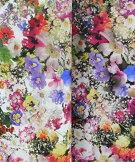 ◇綿シーチング《立体的な花柄》-top
