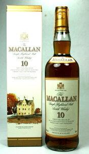 オールドボトル マッカラン【ゴールデンプロミス】マッカラン 10年 旧ボトル(イタリア流通...
