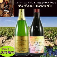 ブルゴーニュ・ビオワイン生産者の草分け的存在、ディディエ・モンショヴェの果実味溢れる、ス...