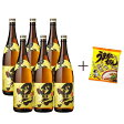 黒伊佐錦 瓶 1.8L×6本+うまかっちゃんとんこつ1袋付