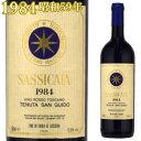 サッシカイア 1984 750ml赤 テヌータ・サン・グイド テヌータ・サン・グイド SASSICAIA