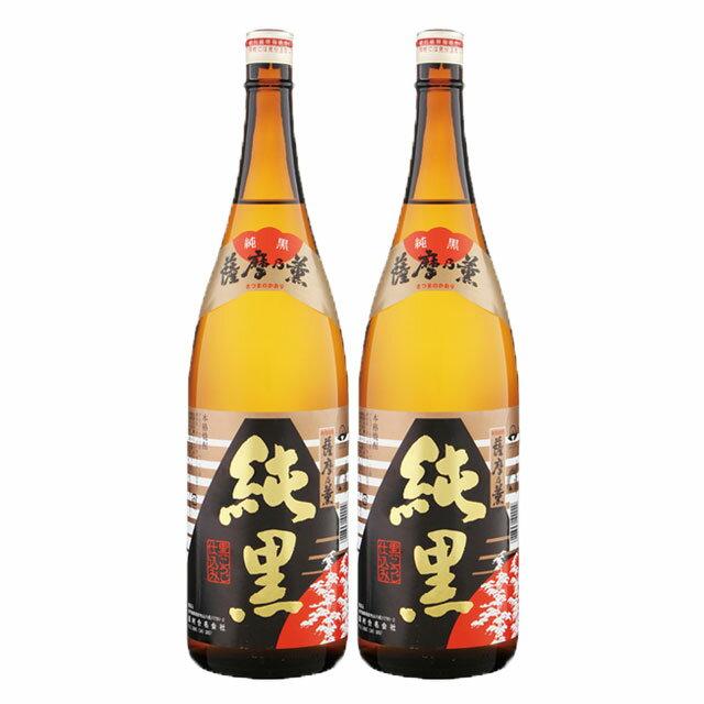 薩摩の薫 純黒 25度 1.8L×2本 セット
