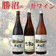 蒼龍 & 北極星 1升瓶ワイン 3本セット 【1升瓶ワイン 勝沼 山梨 国産ワイン 一升瓶】