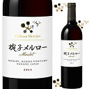 シャトー・メルシャン 椀子メルロー 2015 750ml 日本ワイン 長野県上田市  Chateau Mercian Mariko Merlot