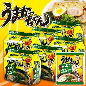 【送料無料】ハウス食品 うまかっちゃん博多からし高菜とんこつ 5食入×6パック 30食セット