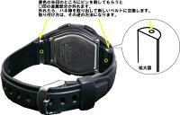 カシオ[CASIO]ウェブセプターWVA-430J-1AJF用バンド(ベルト)