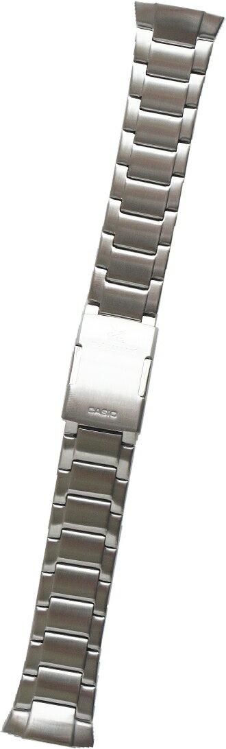 カシオ [CASIO] ウェブセプター WVA-M640D, WVA-M650D用ステンレスバンド(ベルト)