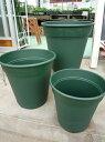 バラの植え付けにおススメ□ロゼアポット300型 グリーン