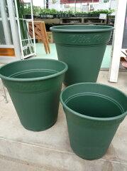 バラの植え付けにおススメ□ロゼアポット450型 グリーン