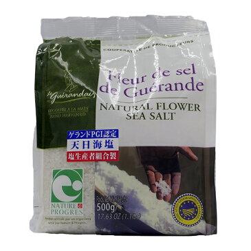 ゲランドの塩 お徳用 フルール ド セル 500g