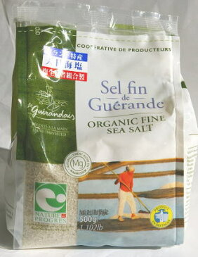 ゲランドの塩 セル・ファン(旧セル マリン ムリュ)(細粒)袋入り500g