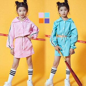 a8123be2fda54 キッズダンス衣装 セットアップ チアダンス衣装 ダンス衣装 ヒップホップ チアリーダー 衣装 ジャズダンス 衣装