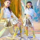 キッズダンス衣装セットアップチアダンス衣装ダンス衣装ヒップホップチアリーダー衣装ジャズダンス衣装HIPHOPスカート応援団体操服ステージ衣装ステージレディースジャズダンス可愛いかわいいユニフォームチアリーディング