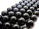オニキス(黒瑪瑙)丸玉 約8mm ビーズ一連(約3840cm)