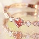 【数量限定】桜色カラーチェンジシャンパンガーネット ダイヤモンド 10...