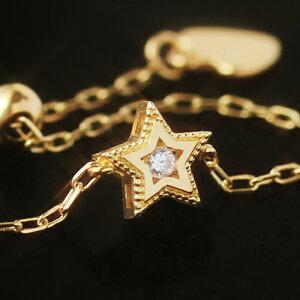 チェーン レディース ダイヤモンド イエロー ゴールド ホワイトゴールド・キラル シンプル ファッション
