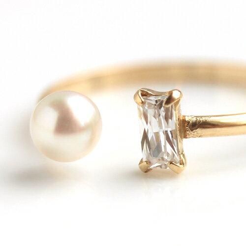 あこや真珠とカラーストーンのネックレス