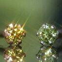 カラーダイヤモンド×カラーゴールドピアス・グロリア