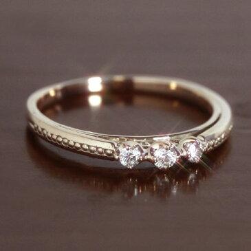 ダイヤモンド カラーゴールド リング レディース 指輪・ラジェーネ 誕生日プレゼント 華奢 シンプル ファッションリング 可愛い ゆびわ ジュエリー ブランド