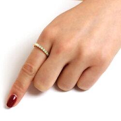 オパールリング指輪レディースジュエリー・ラパンヌエタニティK1010K10金ピンクゴールドゴールドホワイトゴールド誕生日プレゼント女性クリスマスジュエリーギフト可愛いリング彼女ジュエリーコンテスト