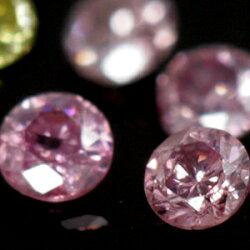 パープルピンク、イエロー、アイスブルー・・ファンシーダイヤモンド×カラーゴールドリング・アモワール超レア!ファンシーカラーダイヤモンド!
