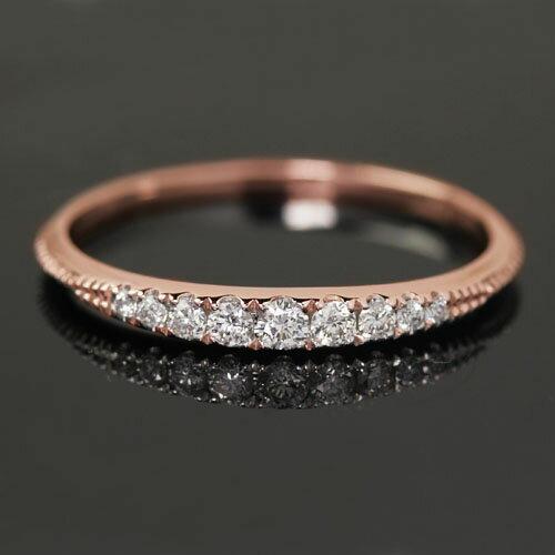 ※11号限定 Royal Diamond Collection 0.13ct VS-SIクラスダイヤモンド×K18カラー...