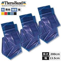 セラバンド(Theraband)ブルー強2m3本セット