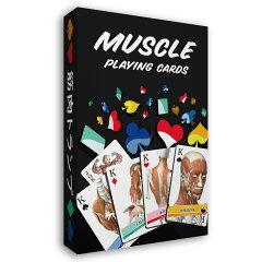 トランプカードゲーム「筋肉トランプ改訂版」筋肉イラスト54枚別絵柄名称ふりがな