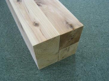 杉(スギ)角材1m4本入【長さ1.0m×厚さ9.0cm×巾9.0cm】無垢材 人工乾燥材群馬県産木材