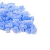 カラーワックスブロックブルー100g【キャンドル材料タイルチップカラーブロックカラーチップグラデーションパラフィンワックスデコレーションキット手作り】[r02]