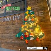 壁に掛けれるクリスマスツリー