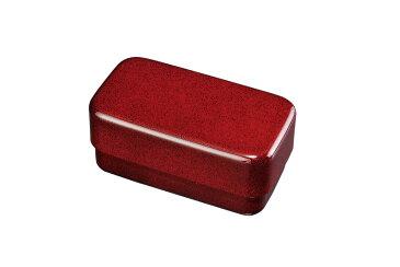 紀州漆器  電子レンジ・食器洗い機・冷凍庫保存対応 お弁当箱 長角入子弁当箱 大 ななこ (タッパー付)食後コンパクト収納大人の弁当箱