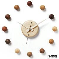 壁掛け時計/サテライトクロック3-MMN