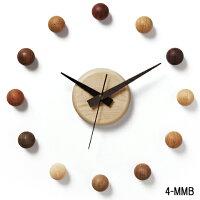 壁掛け時計/サテライトクロック4-MMB