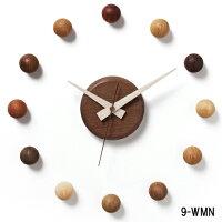壁掛け時計/サテライトクロック9-WMN