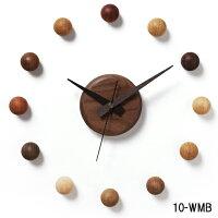 壁掛け時計/サテライトクロック10-WMB