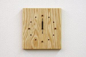 時計 木製時計 木の時計 電波時計 壁掛け時計 オーロラ タモ 天然木 無垢 リビング ダイニング 寝室 玄関 インテリア 壁掛け 贈り物 贈答 ギフト【smtb-KD】
