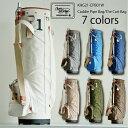 キャディバッグ レア メンズ 軽量 木の庄帆布 レディース キャンバス 帆布 ゴルフ 公式 カートバッグ 限定発売 日本製 国産 ギフト 送料無料 ギフト プレゼント 父の日 父の日ギフト キャディパイプ カートバッグK-KHG21-CPB01W-・・・