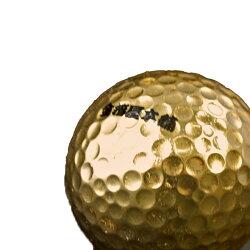 金箔貼ゴルフボール名入れサービス