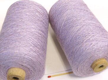 【麻レーヨンスラブ(フジ)】 ほんのりやさしい光沢のある変化糸。しなやかで爽やかな麻とレーヨンのコンビです。
