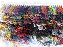 【手織糸・手編糸 サンプルお送りします】  糸の風合い、色合...