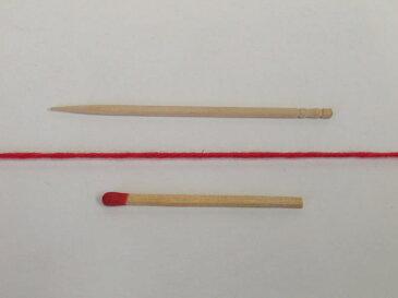 【30/3×6スーピマ綿(赤)】 質が良くてやわらかい、ワンランク上の綿糸をお探しの方におすすめです【手織り向き、手編み向き・綿糸】