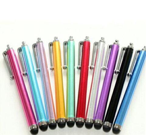 10色選択可 タッチペン 各種スマホ、タブレット対応 ウィルス接触減少対策としてATM、エレベーター、公共施設タッチパネルなどに使える