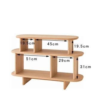 キツツキのマークの 飛騨産業 baguette lb バゲット エルビー IB542B オープンキャビネット(105幅) ダイニングテーブルと同じ高さのため並べてご使用いただけます。 カンブリア宮殿