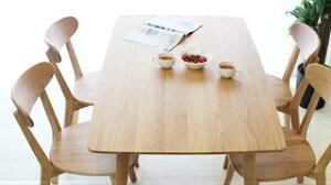 ナチュラルなダイニングテーブル5点セット120cm円形丸型食堂5点セット