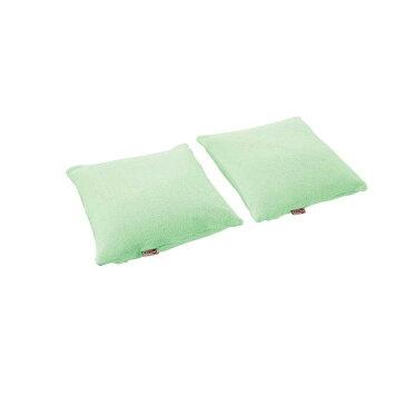 介護用床ずれ防止クッション 西川リビング ビーズクッション マシュマロフィット・フラット 2P (30_751931_4) 2015年5月〜販売の新カラーのグリーン
