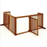 『コーナー ゲート 60XL』木製 室内 ペット ゲート 犬 ゲート L字型 ペットゲート